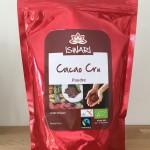 cacao cru en poudre sans sucre ajouté